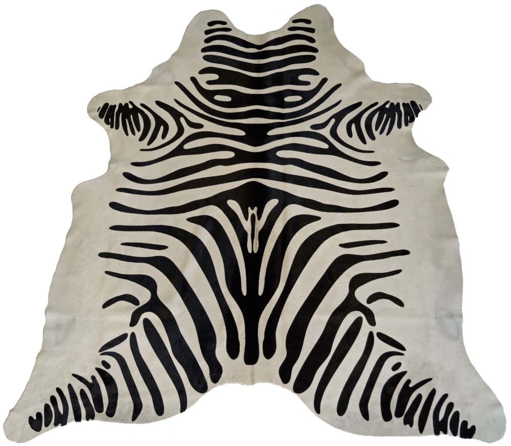 BS Trading Zebra Cowhide 147877 Black And White