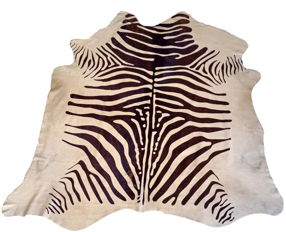 BS Trading Zebra Cowhide 147878 Brown And White