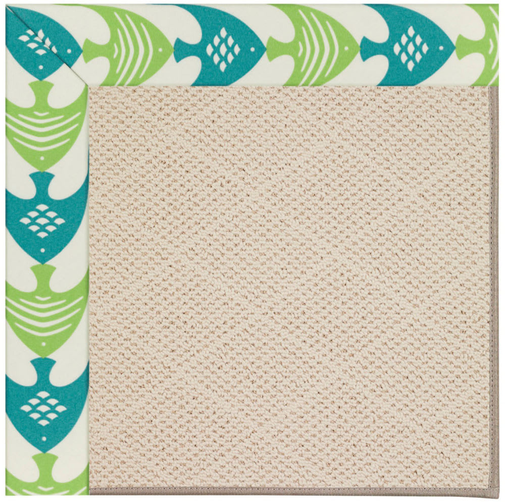 Capel Zoe White Wicker 1993 Angel Fish Green