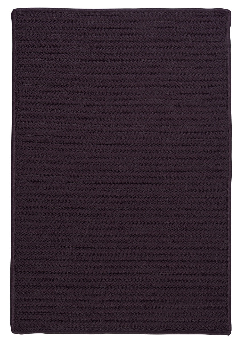 Colonial Mills Simply Home Solid H121 Eggplant Area Rug - 160699