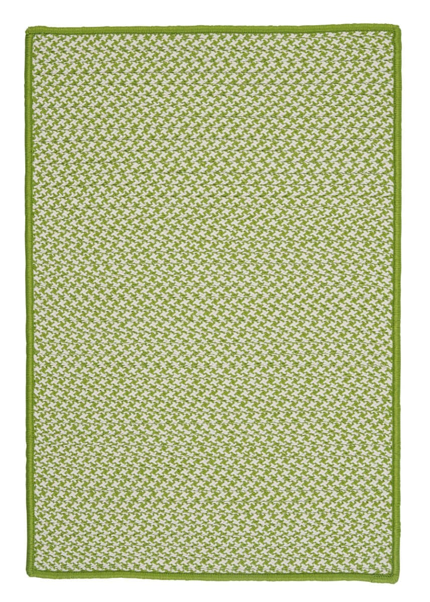 Colonial Mills Outdoor Houndstooth Tweed Ot69 Lime