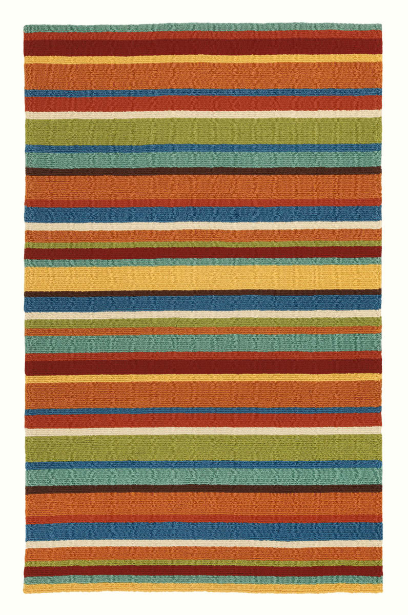 Company C Cabana Stripe 18987 Orange