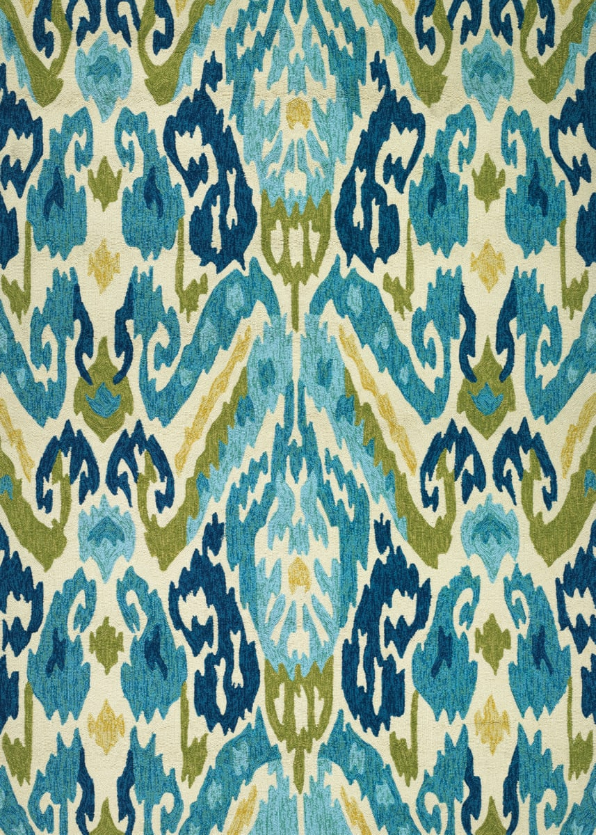 Rugstudio Sample Sale 172675R Azure - Lemon