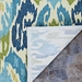 Rugstudio Sample Sale 172675R Azure - Lemon Area Rug Last Chance - 172675R