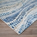 Couristan Easton Charles Bone - Blue - Multi Area Rug - 179784