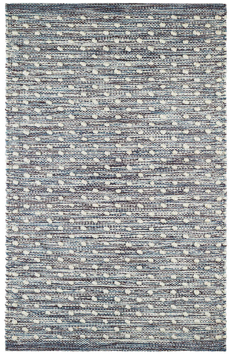 Dash And Albert Hobnail Indoor - Outdoor Blue Area Rug - 199381