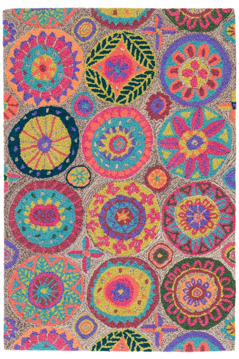 Dash And Albert Merry Go Round Wool Bright Rug Studio
