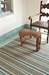 Rugstudio Sample Sale 56167R Heron Stripe Area Rug Last Chance - 56167R