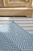 Rugstudio Sample Sale 56196R Slate-Light Blue Area Rug Last Chance - 56196R