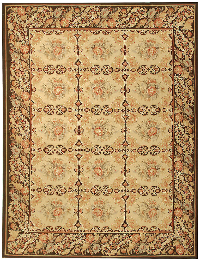 Due Process Aubusson Avignon Gold - Dark Brown