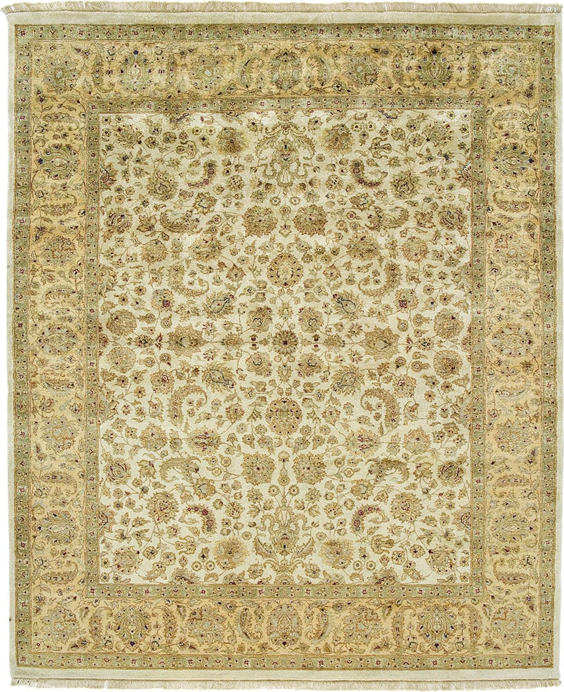Due Process Kashmir Kashan Beige - Gold