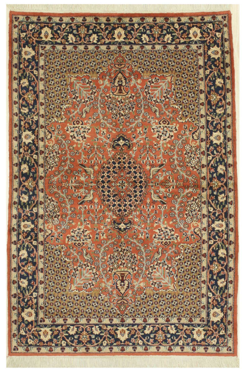 Eastern Rugs Agra Yz422 Rust Area Rug