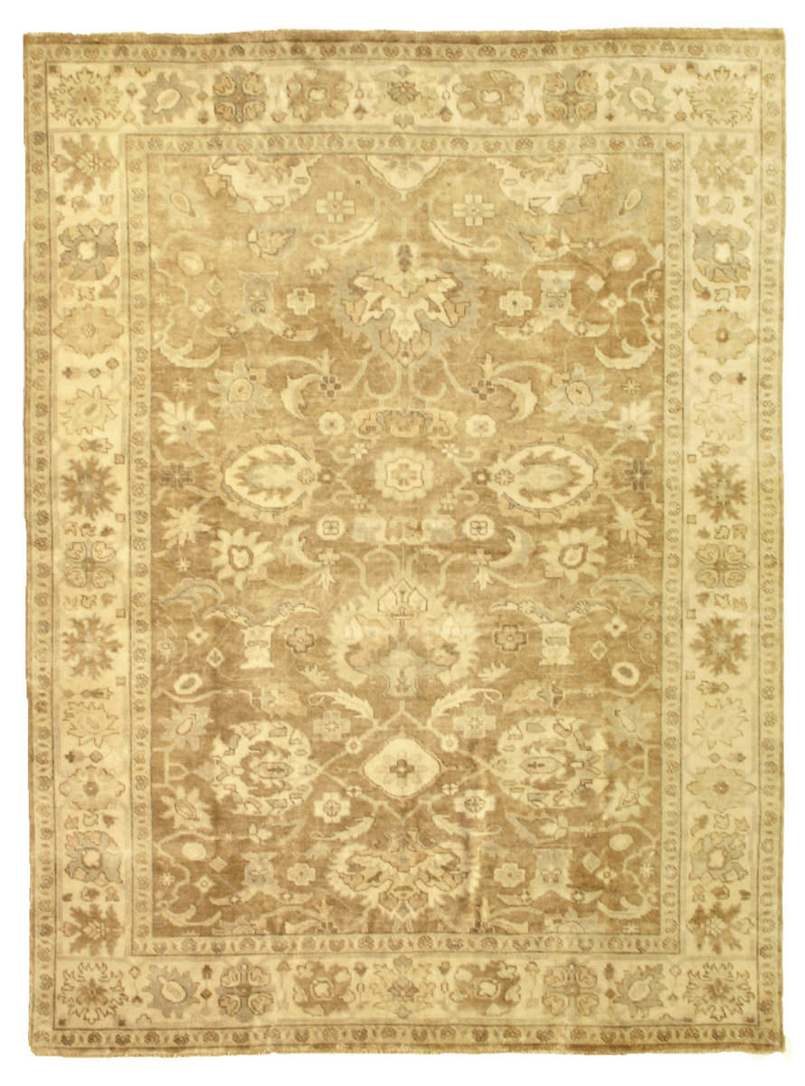 Exquisite Rugs Oushak Hand Knotted Gray - Brown