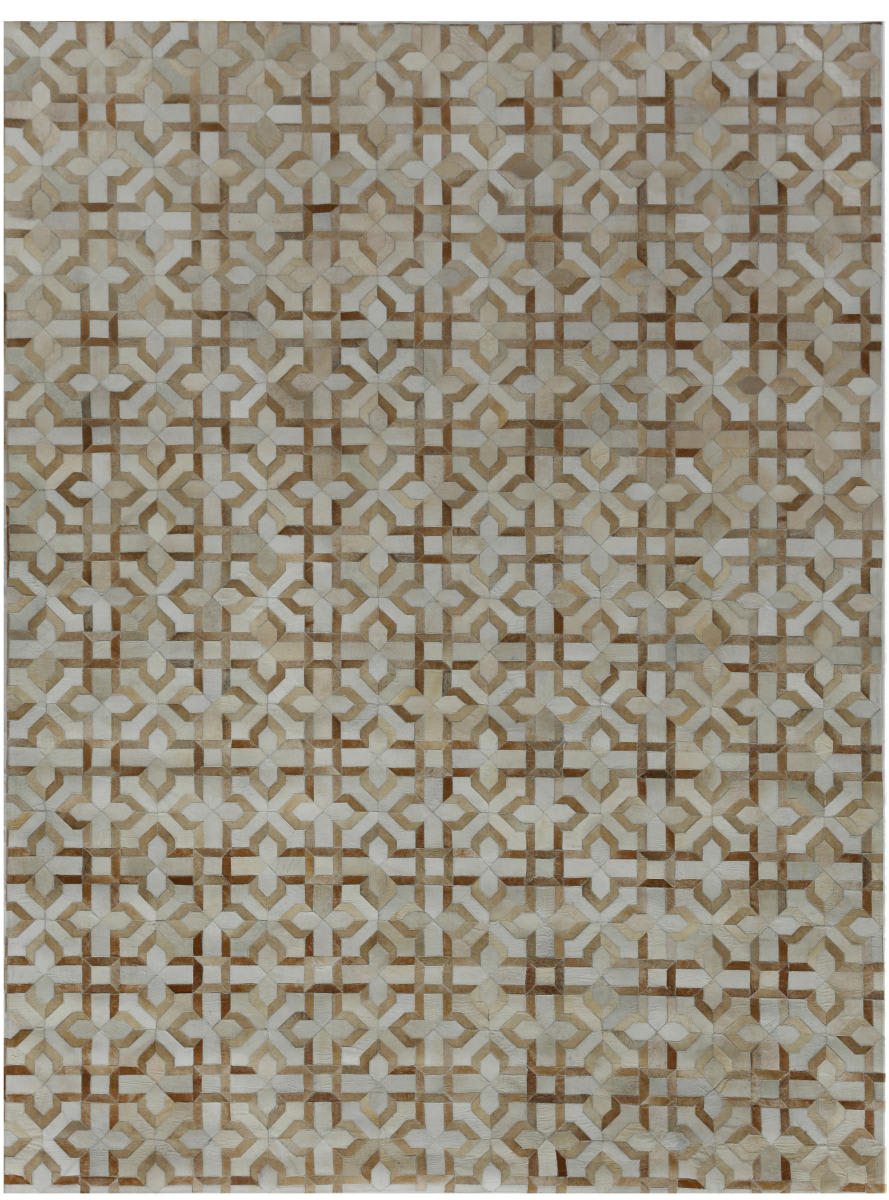 Exquisite Rugs Natural Hair on Hide Beige - Ivory