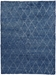 Exquisite Rugs Moroccan Hand Knotted Blue Area Rug - 190812