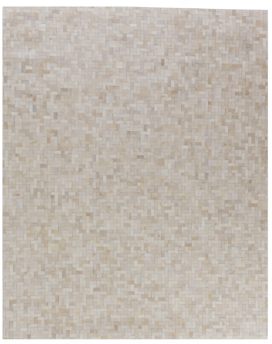 Exquisite Rugs Natural Hair on Hide Ivory - Multi