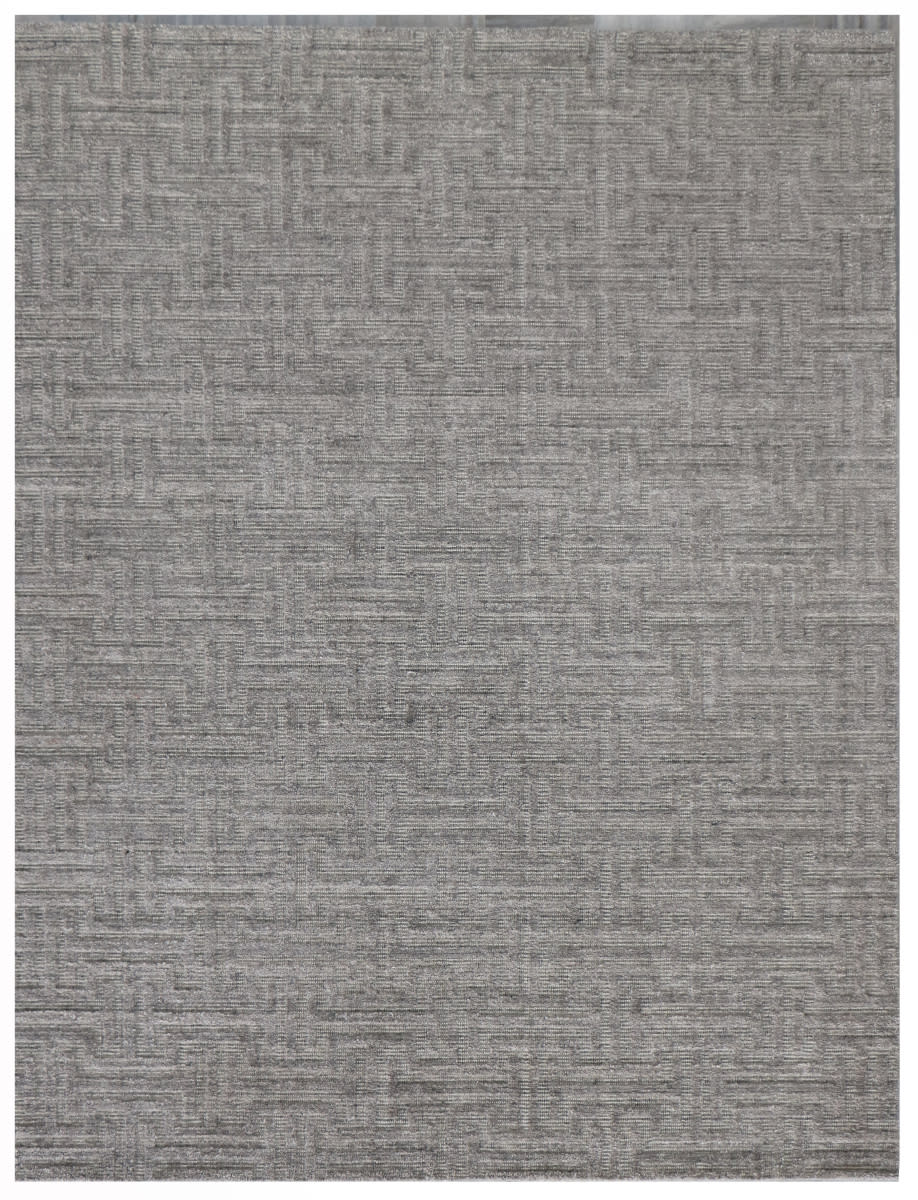 Exquisite Rugs Oxnard Hand Woven 2415 Silver - Multi