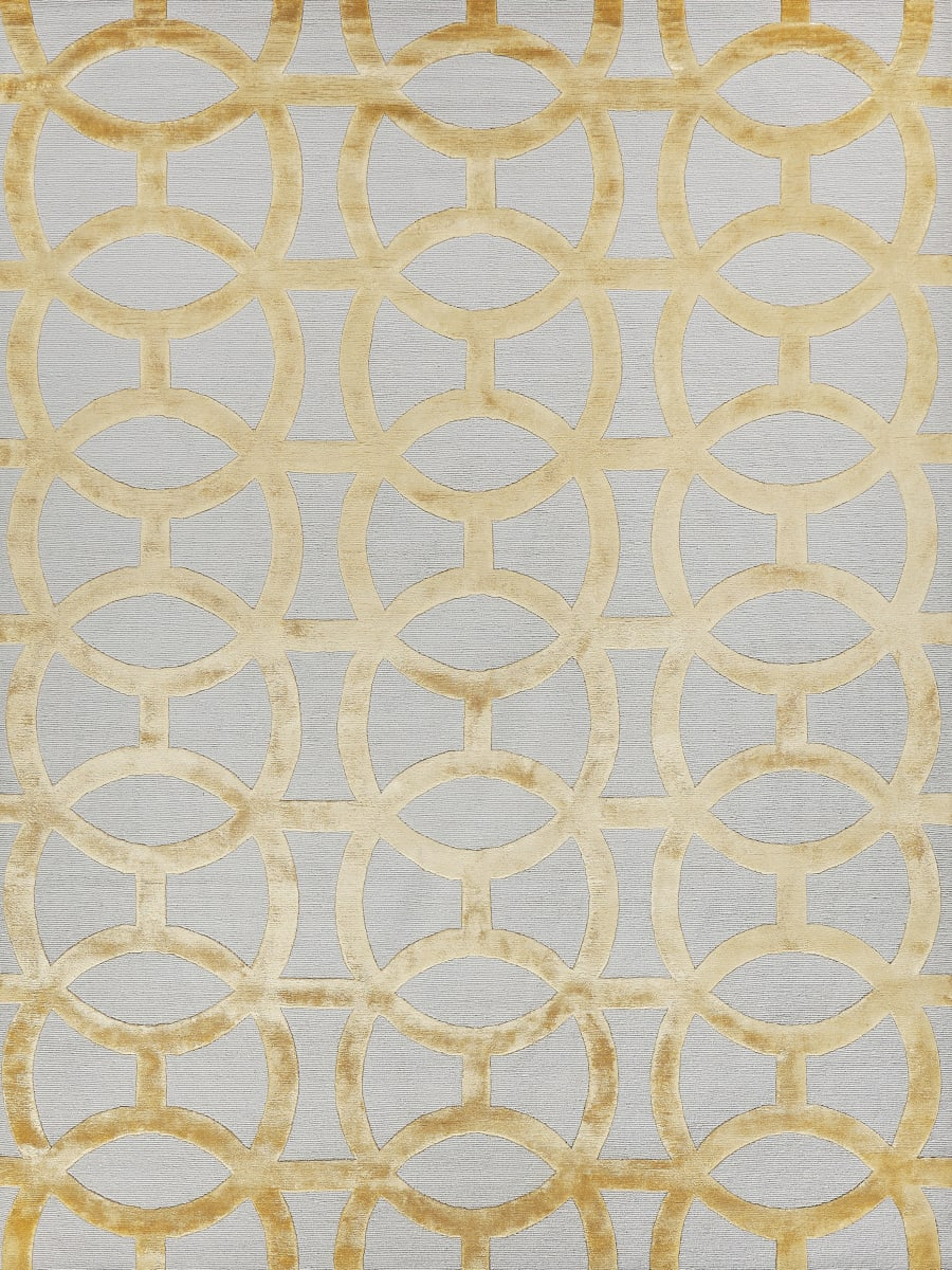 Exquisite Rugs Moreno Hand Woven 2428 Gold - Ivory