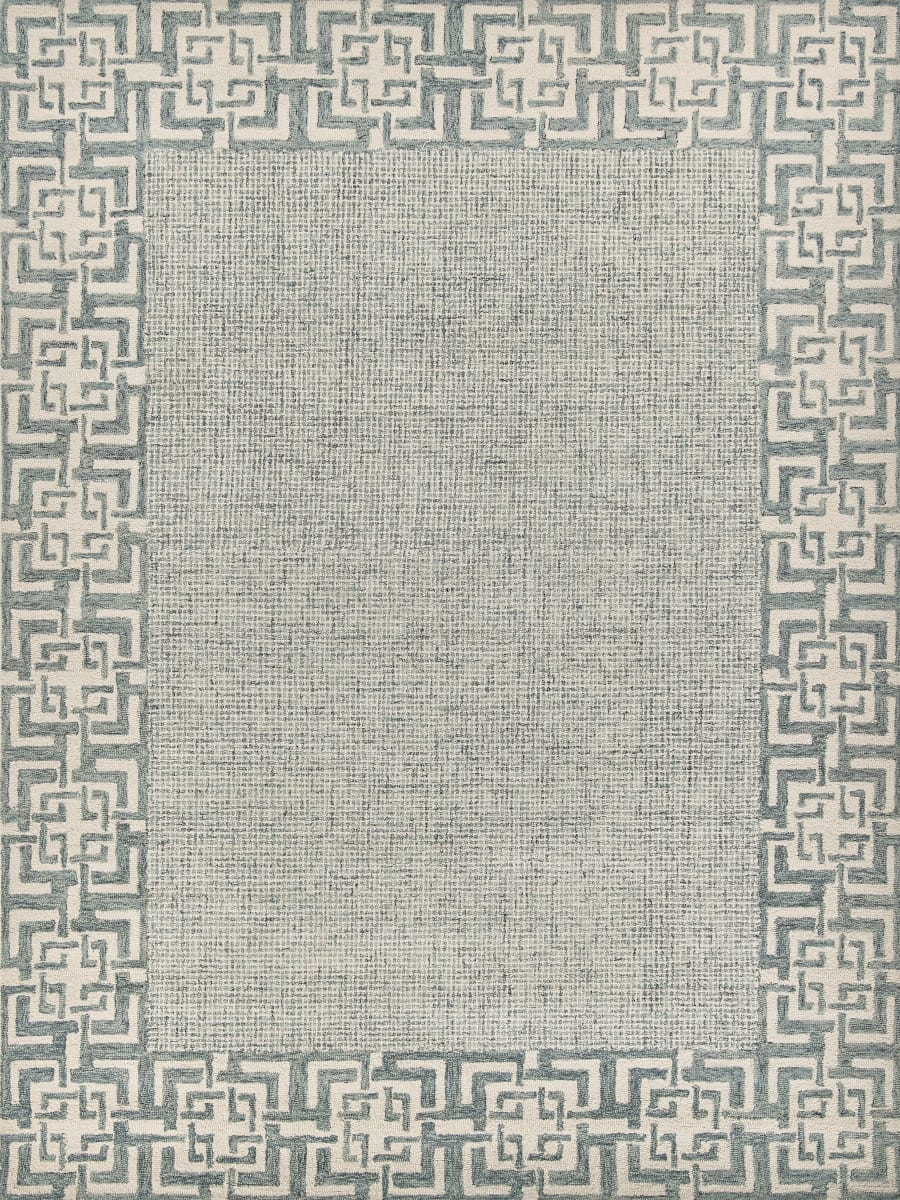 Exquisite Rugs Laurice Hand Tufted 2701 Aqua