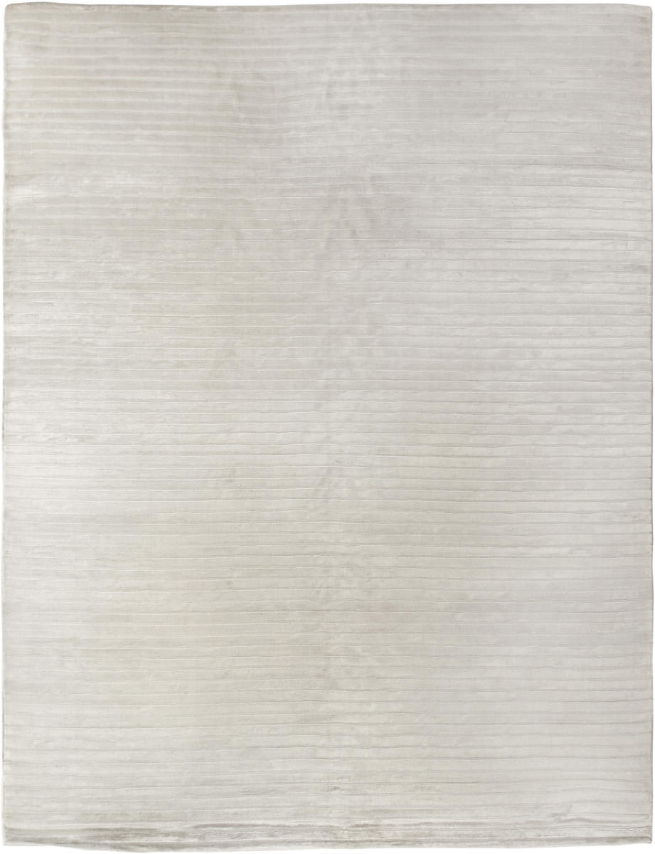Exquisite Rugs Wave Hand Woven 3230 White