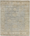 Exquisite Rugs Oushak Hand Knotted 3369 Gray - Ivory