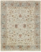 Exquisite Rugs Serapi Hand Knotted Ivory - Light Blue Area Rug - 191070