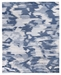 Exquisite Rugs Abstract Expressions Hand Knotted 3997 Blue