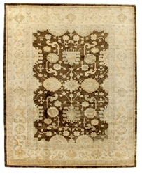 Exquisite Rugs Oushak Hand Knotted Ivory - Beige Area Rug