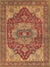 Exquisite Rugs Serapi Hand Knotted 8144 Red