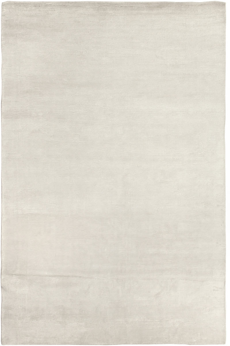 Exquisite Rugs Courduroy Hand Woven White