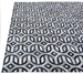 Exquisite Rugs Natural Hair on Hide Silver - Blue Area Rug - 190826