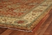 Exquisite Rugs Fine Serapi Hand Knotted Rust - Light Gold Area Rug - 190665