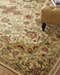 Exquisite Rugs Polonaise Hand Knotted Cream - Spruce Area Rug - 190969