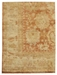 Exquisite Rugs Oushak Hand Knotted Red - Beige Area Rug - 190920