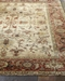 Exquisite Rugs Serapi Hand Knotted Ivory - Red Area Rug - 191080