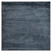 Exquisite Rugs Courduroy Hand Woven Navy Area Rug - 190615