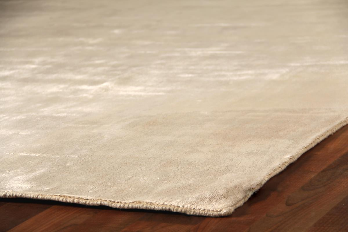 Exquisite Rugs Purity Hand Woven Ivory Area Rug - 190981