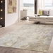 Famous Maker Beverly Pop-8009 Silver - Brown Area Rug - 200989