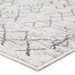 Famous Maker Valarie Apana Val-1040 White - Light Gray Area Rug - 196637