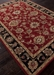 Custom Jaipur Living Mythos Anthea My08 Red - Ebony Outlet Area Rug - 74952RC