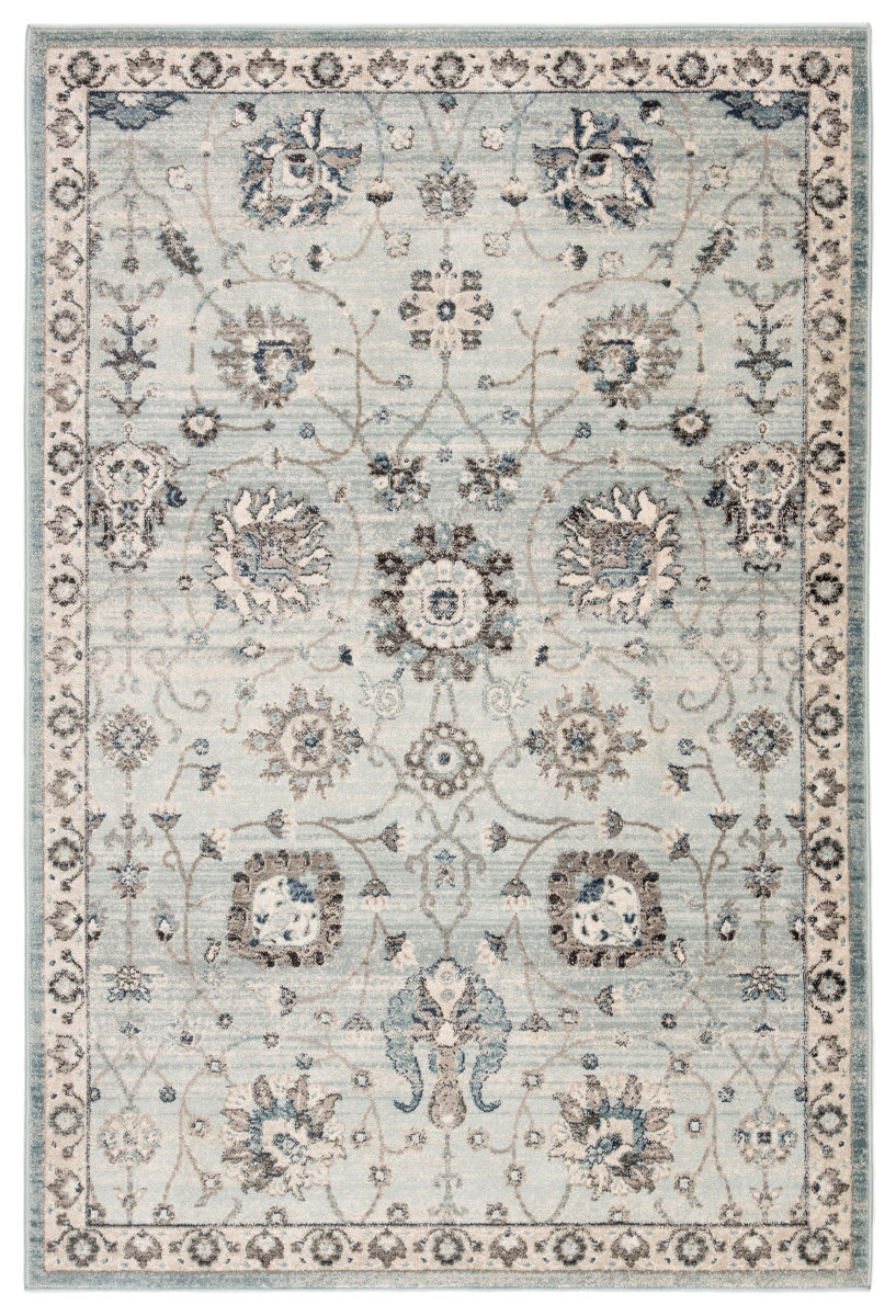 Jaipur Living Berkeley Ainsley Ber06 Light Blue - Gray