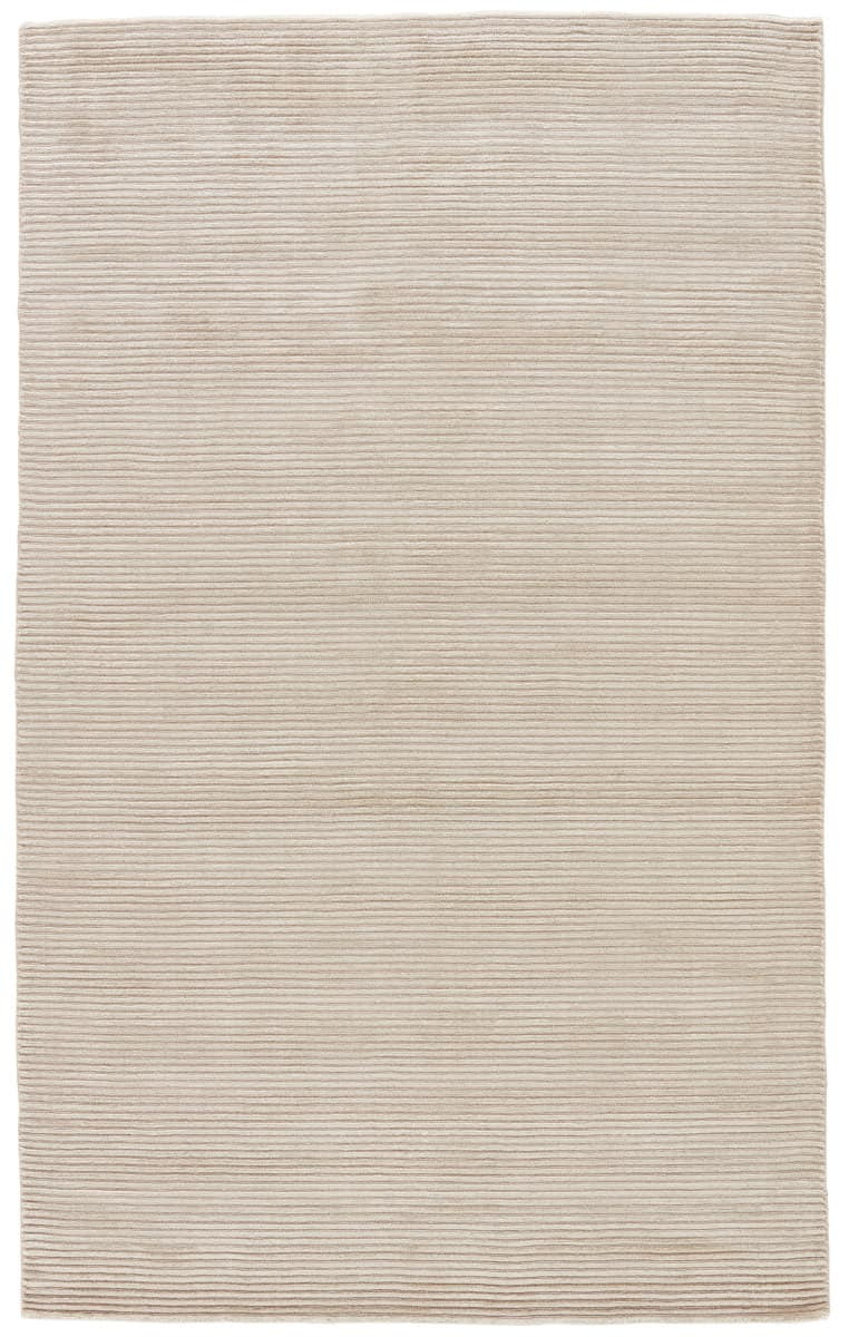 Jaipur Living Basis BI01 Bone White - Simply Taupe