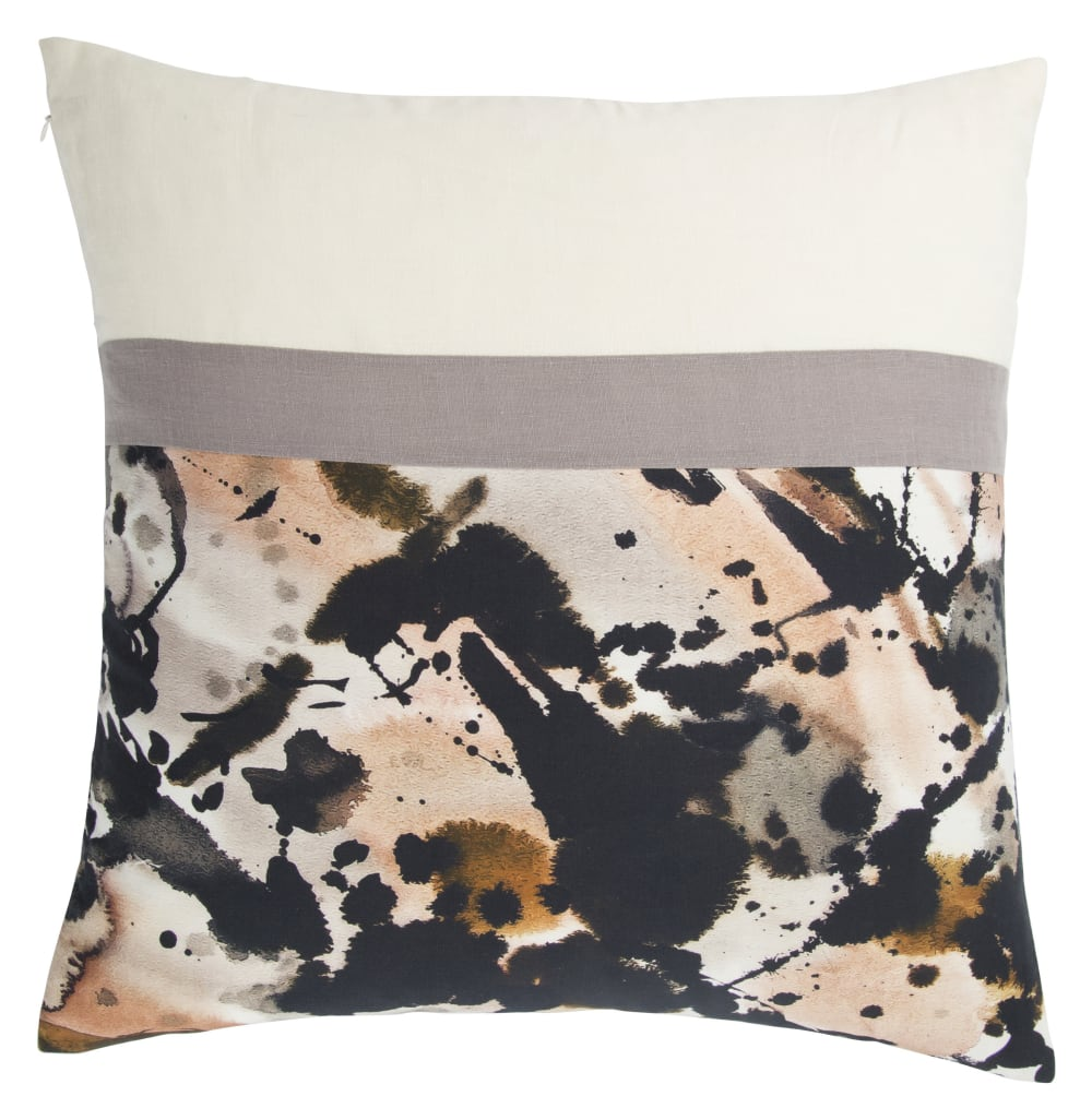 Jaipur Living En Casa By Luli Sanchez Pillow Arden Lsc30 Black - Cream