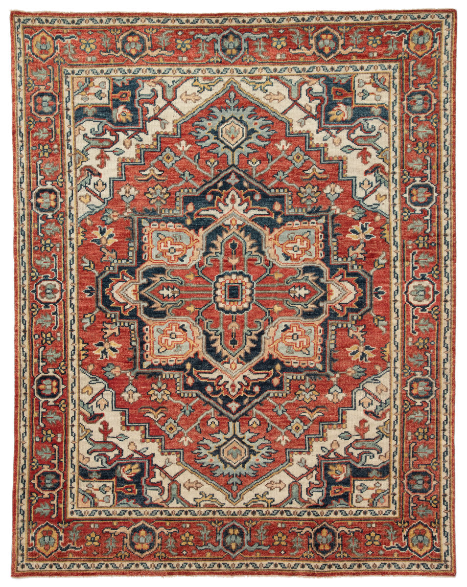 Jaipur Living Salinas Willa Sln05 Red - Multicolor