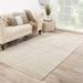 Jaipur Living Basis BI01 Bone White - Simply Taupe Area Rug Clearance - 69929