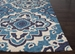 Rugstudio Sample Sale 109631R Blue Area Rug Last Chance - 109631R