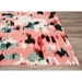 Jaipur Living Murray By Kate Spade New York Watercolor Leopard Mkn01 Pink - Black Area Rug Clearance - 146268