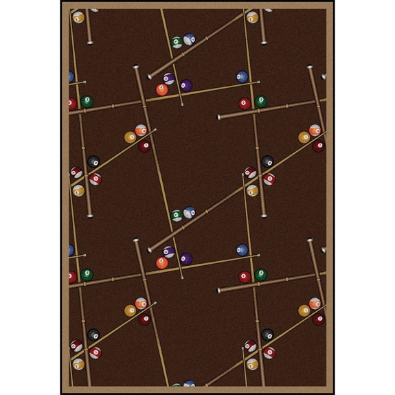 Joy Carpets Games People Play Snookered Chocolate