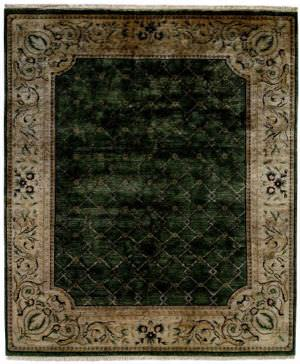 Kalaty Riviera Rv-615 Medium Green-Ivory Area Rug Clearance