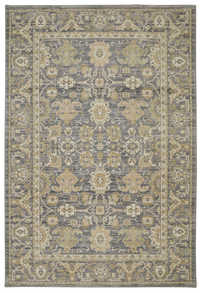 Karastan Pacifica Voltaire Gray Area Rug Clearance - 143019